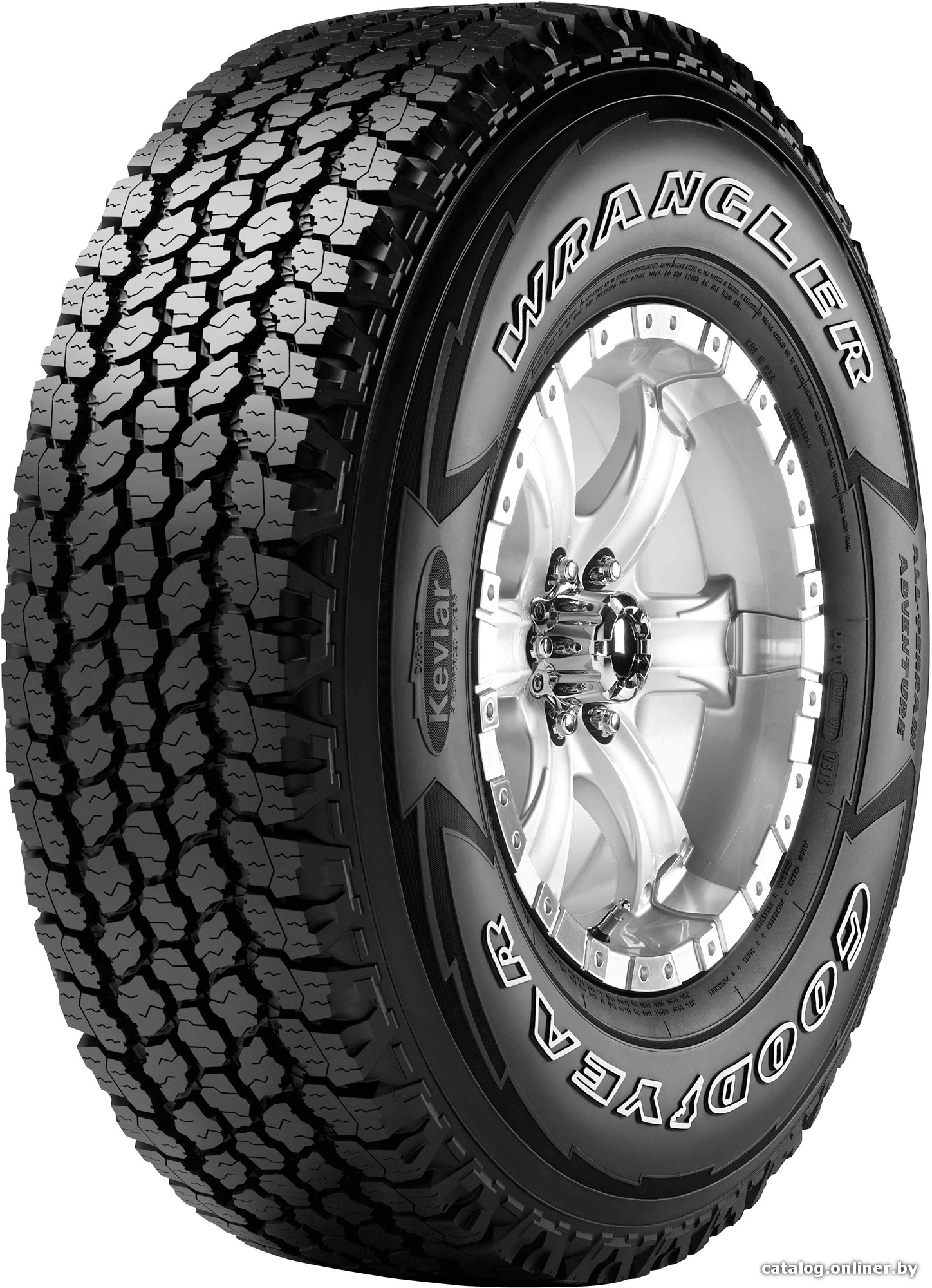 Автомобильные шины Goodyear Wrangler All-Terrain Adventure 31x10.50R15 109R